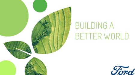 Ford nos unimos a la celebración del Día de la Tierra con 10 compromisos sustentables