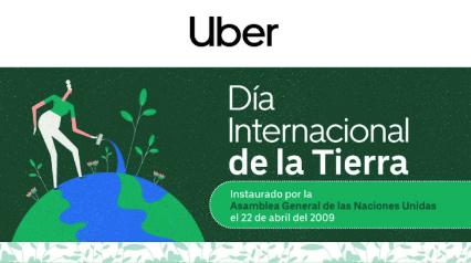 Uber refrenda su compromiso por una movilidad sustentable en El Día de la Tierra