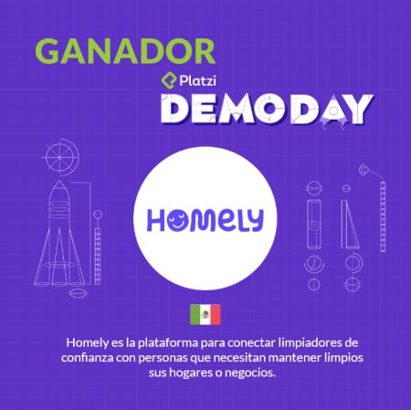 Homely gana el premio a la mejor startup de América Latina en el Platzi Demo Day
