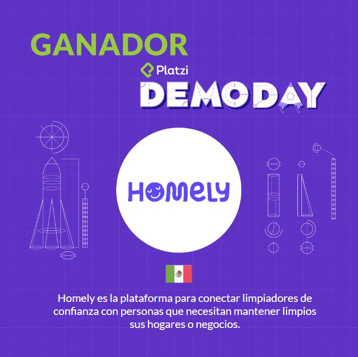Homely gana el premio a la mejor startup de América Latina en el Platzi Demo Day - homely-gana-premio-mejor-startup-platzi-demoday