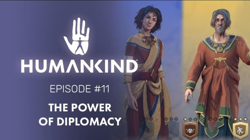 HUMANKIND recibe un nuevo video: El Poder de la Diplomacia - humankind-800x450