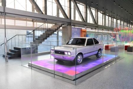Hyundai Motor ha revelado el PONY de la serie Heritage