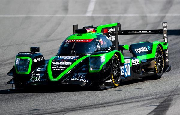 ZTE presente en el arranque de la temporada 2021 del European Le Mans Series - memo-rojas-coche-zte