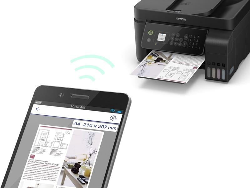 Soluciones de impresión y proyectores para potencializar los espacios de tu hogar - multifuncionales-ecotank-l5190