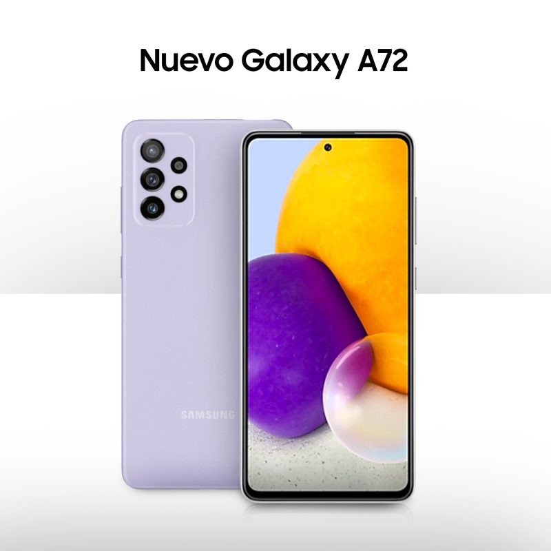 Llega a AT&T el nuevo Samsung Galaxy A72 ¡conoce sus características! - samsung-galaxy-a72-2021-800x800