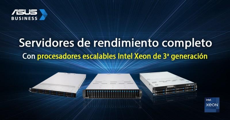ASUS lanza nuevos Servidores de procesadores escalables Intel Xeon 3a generación - servidores-de-procesadores-escalables-intel-xeon-3a-generacion-800x419
