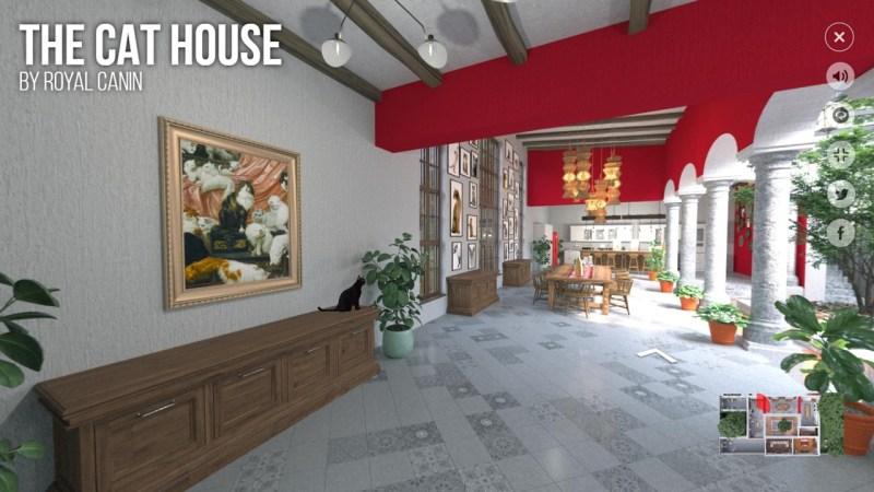 Royal Canin lanza The Cat House, experiencia virtual para conocer el mundo de los gatos - the-cat-house-1-800x450