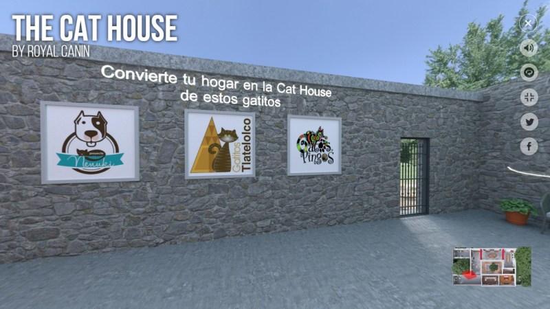 Royal Canin lanza The Cat House, experiencia virtual para conocer el mundo de los gatos - the-cat-house-pagina-web-800x450