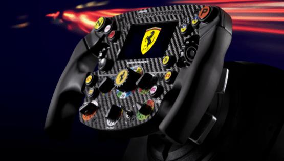 Thrustmaster presenta una réplica para carreras de simulación del volante del Ferrari SF1000 - thrustmaster-simulacion-del-volante-ferrari