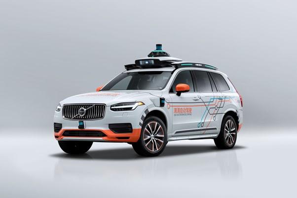 Volvo se une a DiDi para su flota de prueba de vehículos autónomos - volvo-didi-auto-autonomo
