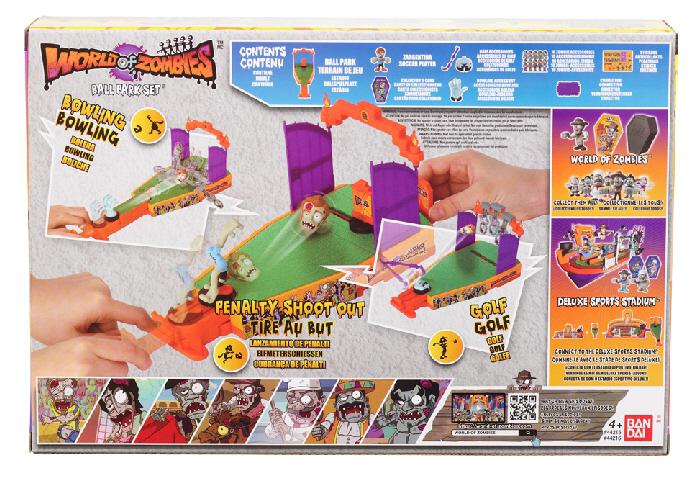 Llega a Bandai México la invasión de World of Zombies - world-of-zombies-bandai-miniplayset-1