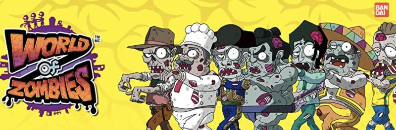Llega a Bandai México la invasión de World of Zombies