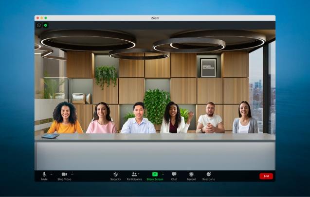 Zoom presenta Immersive View, una forma más colaborativa de reunirse - zoom-immersive-view