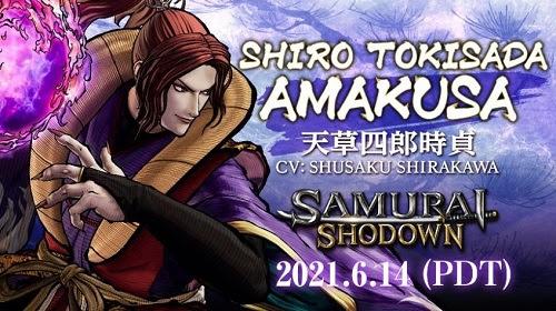 Samurai Shodown llega a Steam el 14 de Junio con el DLC de Amakusa - amakusa
