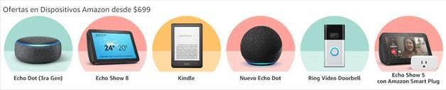 Amazon México revela las categorías más vendidas durante los primeros cuatro días del Hot Sale - dispositivo-amazon