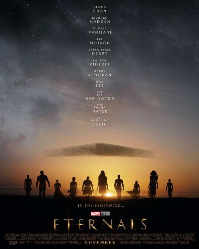 Primer tráiler y póster de Eternals de Marvel Studios - eternals-poster-640x800