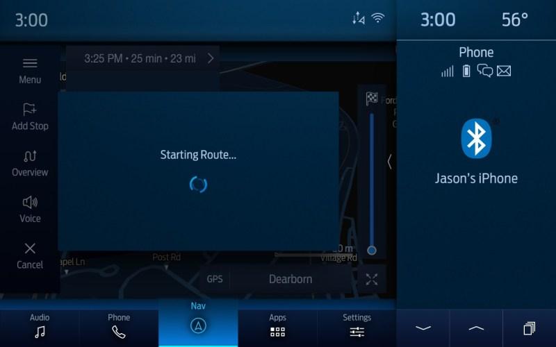 Ford Power-Up ofrecen una mejor experiencia de Alexa, Bluecruise y más - ford-amazon-alexa-built-in-navigation-800x500