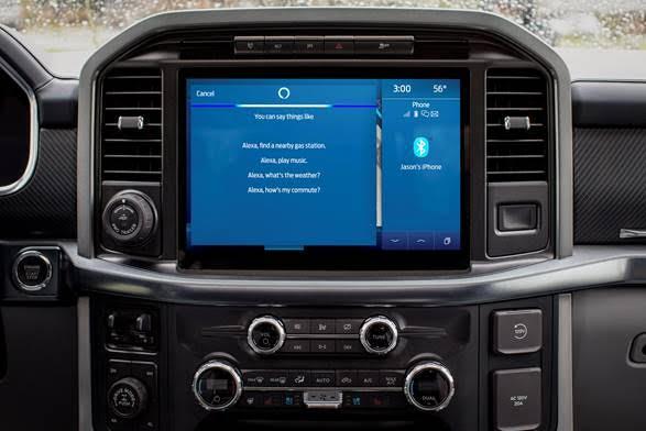 Ford Power-Up ofrecen una mejor experiencia de Alexa, Bluecruise y más