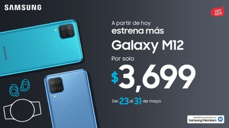 Nuevo Samsung Galaxy M12 ¡Conoce sus características y precio!