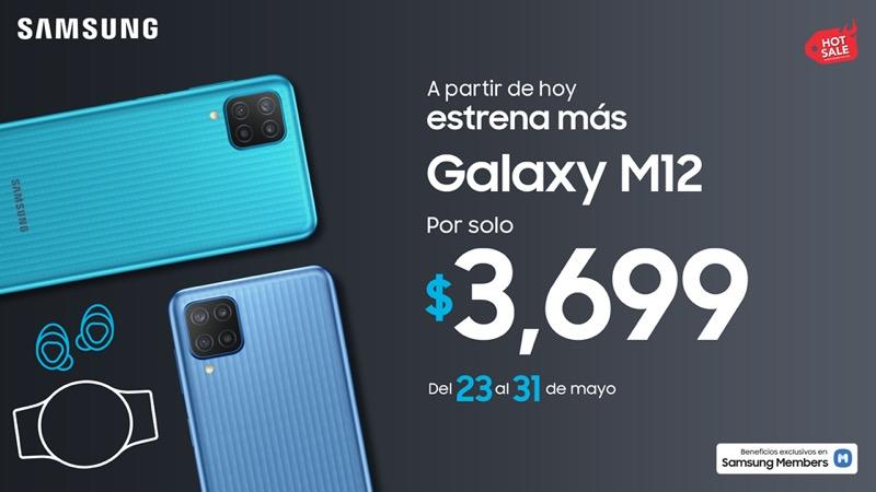 Nuevo Samsung Galaxy M12 ¡Conoce sus características y precio! - hotsale-samsung-m12
