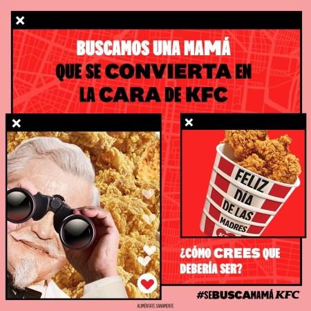 KFC está en la búsqueda de la mamá más icónica y audaz de México
