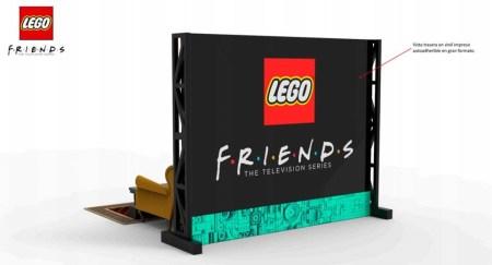 LEGO monta sets de la serie Friends en Santa Fe