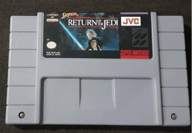 Selección de videojuegos de Star Wars y consolas clásicas disponibles en Mercado Libre - nes-super-star-wars-the-return-of-the-jedi
