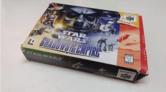 Selección de videojuegos de Star Wars y consolas clásicas disponibles en Mercado Libre - nintendo-64-shadows-of-the-empire