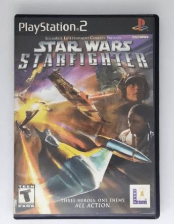 Selección de videojuegos de Star Wars y consolas clásicas disponibles en Mercado Libre - playstation-2-jedi-starfighter
