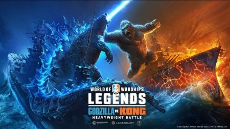 Los titanes luchan en World of Warships: Legends