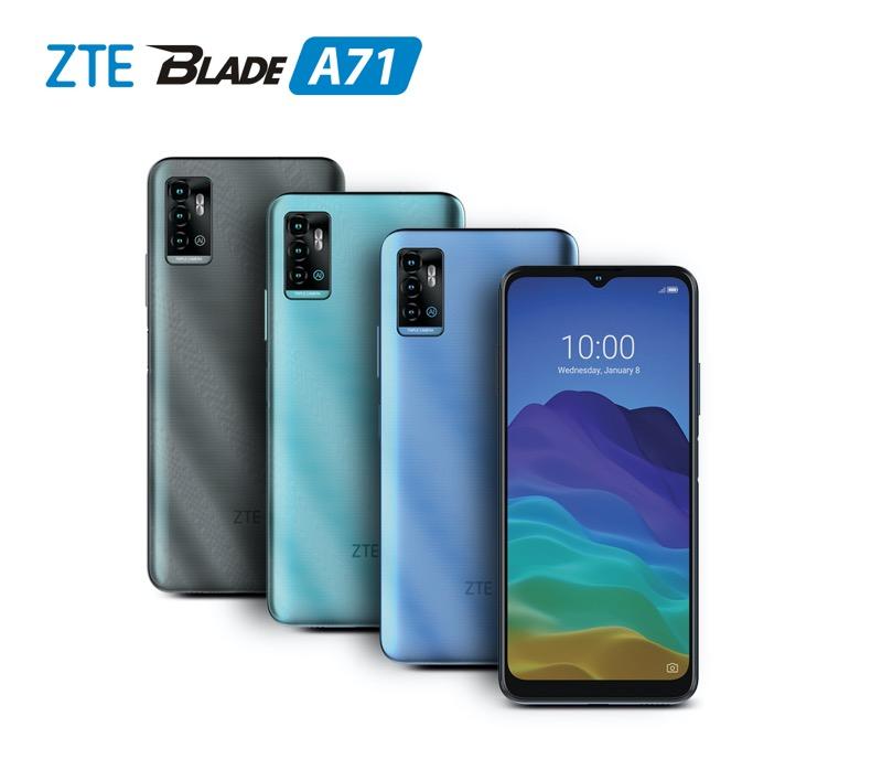 Nuevo ZTE Blade A71 ¡conoce sus características y precio! - zte-blade-a71-set