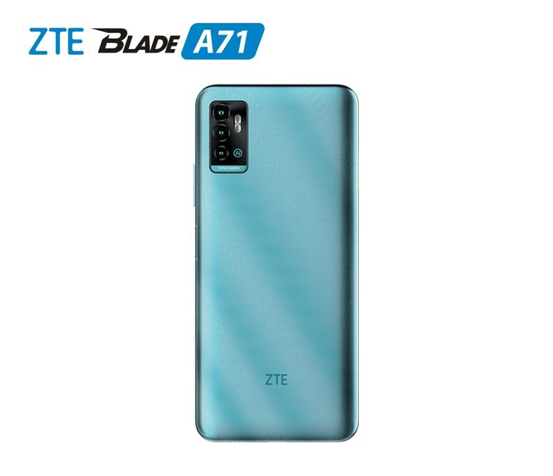 Nuevo ZTE Blade A71 ¡conoce sus características y precio! - zte-blade-a71-verde-back