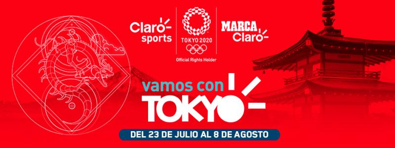 Marca Claro y YouTube se unen para llevar los Juegos Olímpicos Tokyo 2020 a países de Latinoamérica - claro-tokio-youtube-800x300