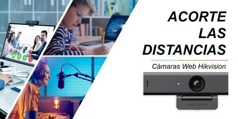 Nueva línea de cámaras web Hikvision para videoconferencia y streaming - hikvision-camaras-web-webcams