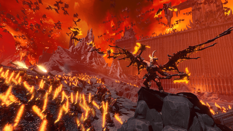 Adéntrate en el mundo de Khorne en Total War: WARHAMMER III