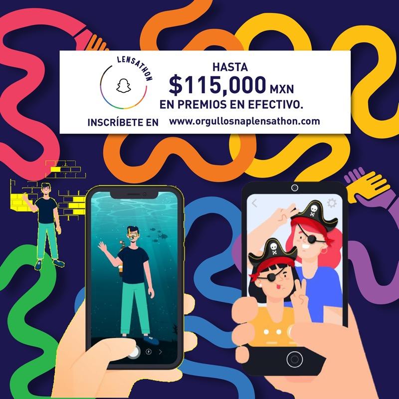 Dos nuevos jurados se integran al panel de jurados del primer Lensathon de Snapchat en México - lensathon-de-snapchat-mexico-800x800