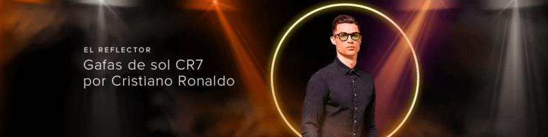 Llega a Mercado Libre la nueva línea de lentes de sol CR7 Eyewear de Cristiano Ronaldo - lentes-de-sol-cr7-eyewear-cristiano-ronaldo-3-800x201