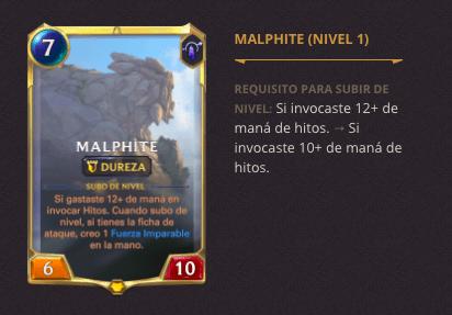 Legends of Runeterra: Notas de la versión 2.9.0 - malphite