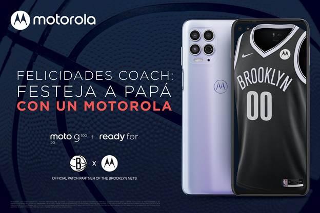 Motorola patrocinador oficial de los Brooklyn Nets para la temporada regular de la NBA 2021 - motorola-brookyn-nets-patrocinador