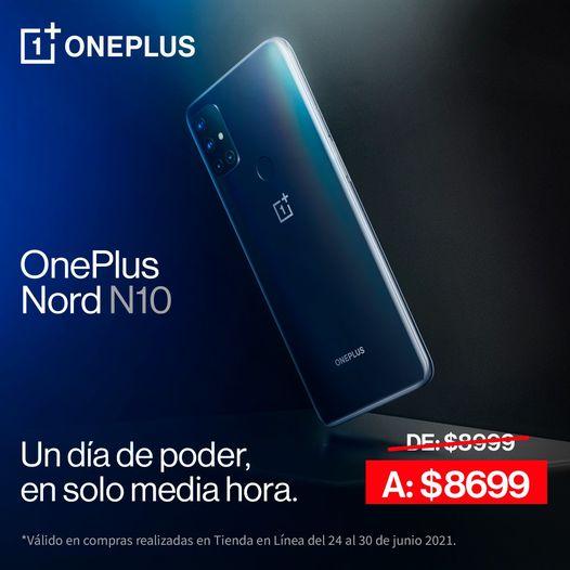 OnePlus Nord N10 5G con Telcel a partir del 24 de junio - one-plus-nord-n10