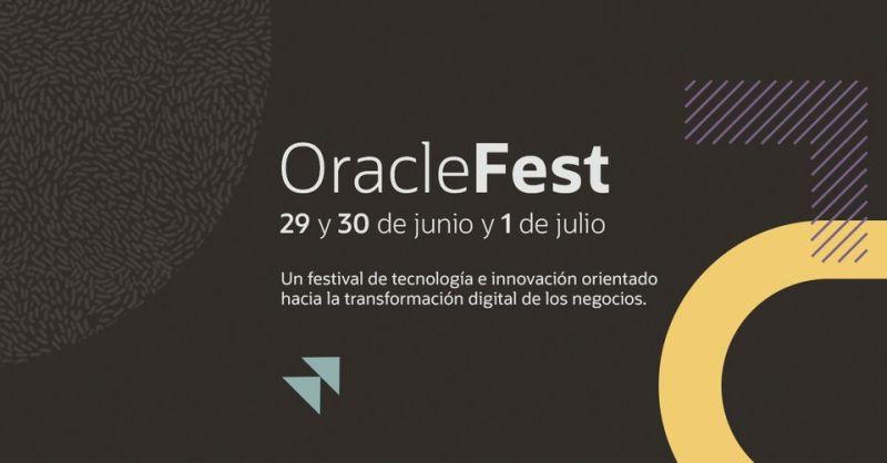 Oracle Fest 2021: festival online de tecnología e innovación - oracle-fest-800x418