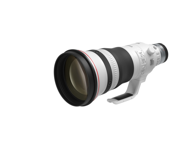 Canon lanza tres innovadores lentes para fotógrafos profesionales - rf400mm-f28-l-is-usm-front-slant-with-cap
