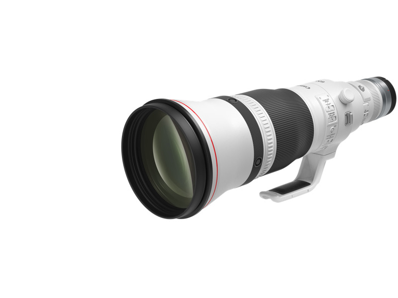 Canon lanza tres innovadores lentes para fotógrafos profesionales - rf600mm-f4-l-is-usm-front-slant-with-cap
