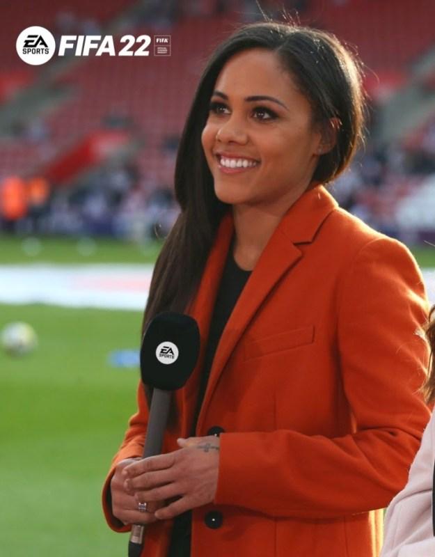 EA SPORTS anuncia a la primera mujer comentarista en EA SPORTS FIFA 22 - alex-scott-headshot-fifa-22-625x800