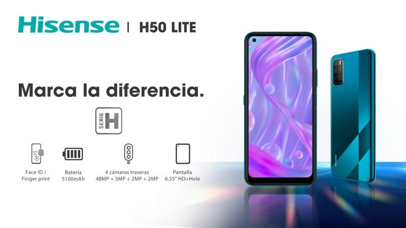 Hisense lanza el nuevo smartphone de la serie H: H50 Lite - h50-lite-800x450