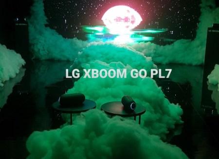 Bocinas portátiles LG XBOOM Go PL7 enaltecen la experiencia audiovisual Dreams