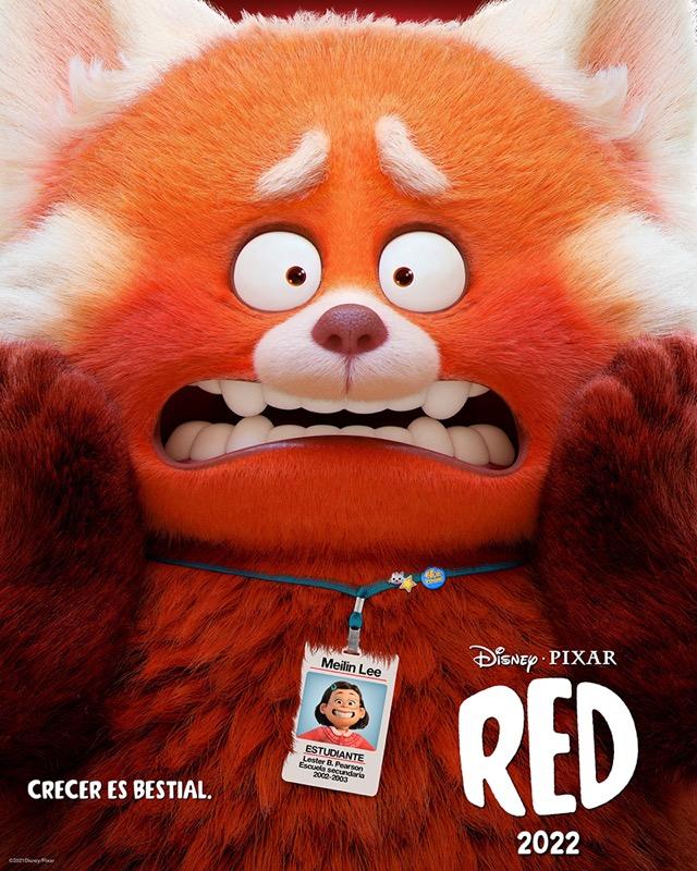 Disney y Pixar revelaron el primer tráiler y póster de red