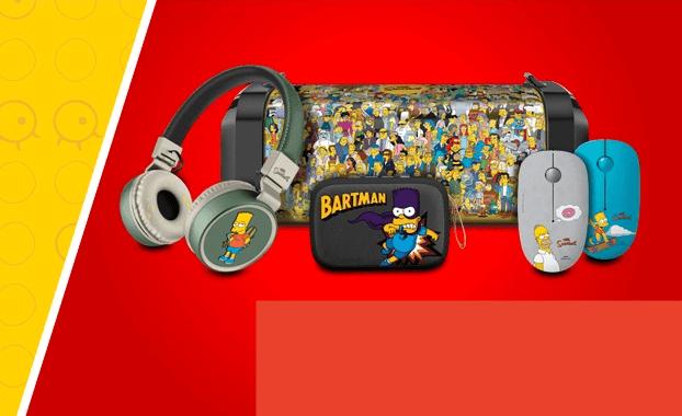 Steren lanza su nueva línea de productos  inspirada en Los Simpson