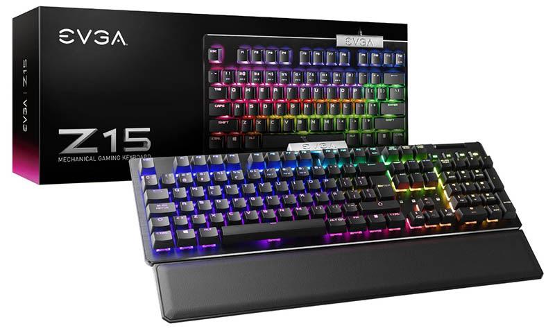 Nuevos teclados Z15 y Z20 de EVGA con distribución de teclas en español ¡ya están disponibles! - teclados-z15-z20-evga-tecnologia
