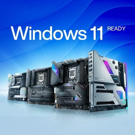ASUS anuncia soporte de sus tarjetas madre para Windows 11